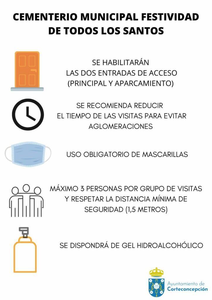 HORARIO CEMENTERIO MUNICIPAL FESTIVIDAD TODOS LOS SANTOS