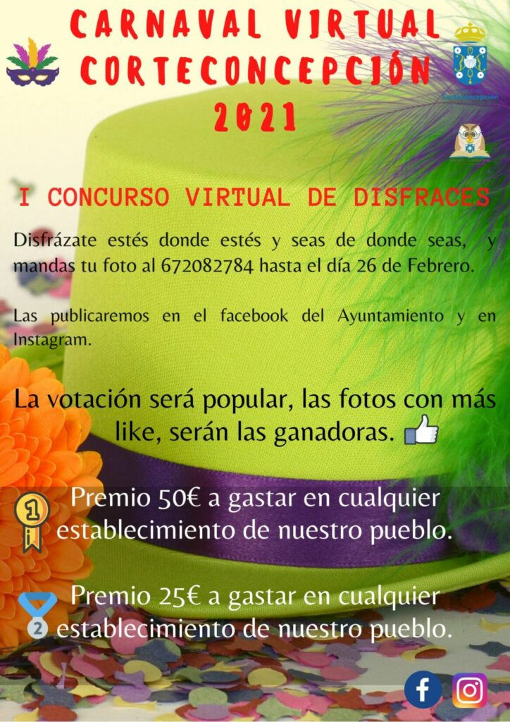 I CONCURSO VIRTUAL DE DISFRACES
