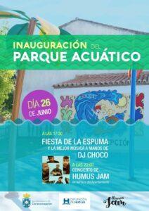 ESTRENO PARQUE DE AGUA - 26 DE JUNIO A LAS 17.30