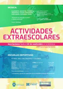 ACTIVIDADES EXTRA-ESCOLARES 21/22